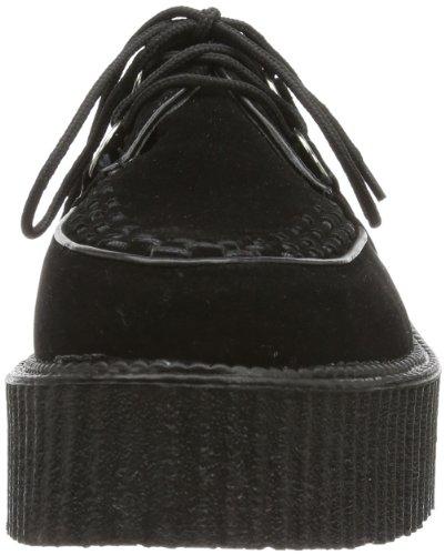 Demonia V-Creeper-502s, Chaussures Homme Noir