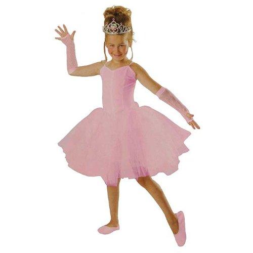 PARTY DISCOUNT KGU11089 Kinder-Kostüm Ballerina Tutu, rosa Gr. 116