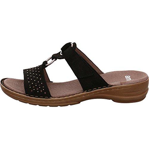 For 37231 Ara Faqwht Mules Chaussures Pour Femme Noir 01 qIEfwpw0