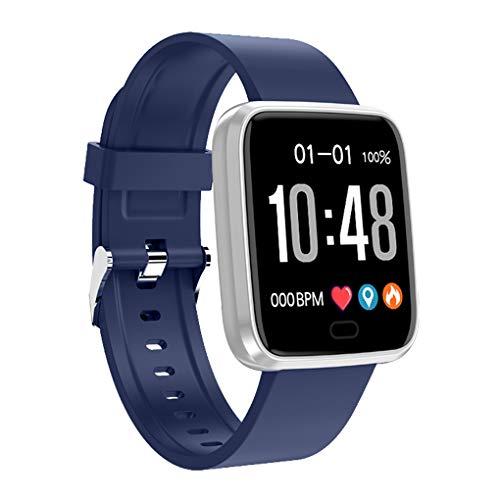 chunyang Herzfrequenz-Blutdruck-Blut-Sauerstoff-Armbanduhr Frauen Männer Sport Fitness wasserdichte Armband (Fitness-tracker Synchronisieren, Um Computer)