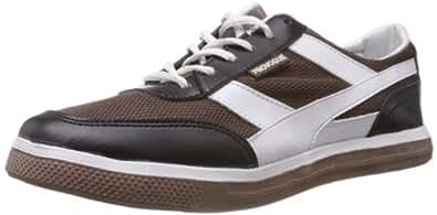 Provogue Men's Brown Mesh Sneakers - 8 UK