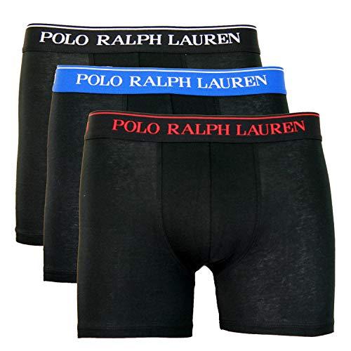 Polo Ralph Lauren Boxer Briefs 3er Pack Slipboxer etwas längeres Bein L Multi (007)