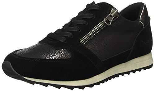 Dockers by Gerli Damen 38ml205-682 Sneakers Schwarz (Schwarz 100) DnxXcuy48O