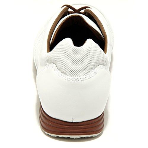 44896 sneakers uomo HOGAN H205 OLYMPIA scarpe shoes men Bianco