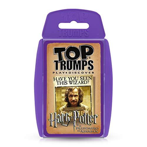 HARRY POTTER- Top Trumps Prisionero Azkaban (10551), Color rojo (ELEVEN FORCE 1)