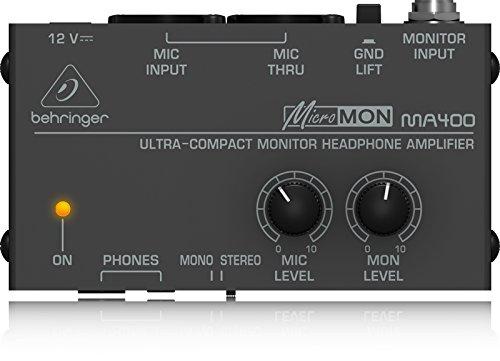 MICROMON MA400 preamplificatore per cuffie ultra-compatto (incluso alimentatore)