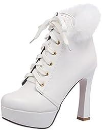 Calzature & Accessori grunge bianchi per donna Fashion thirsty