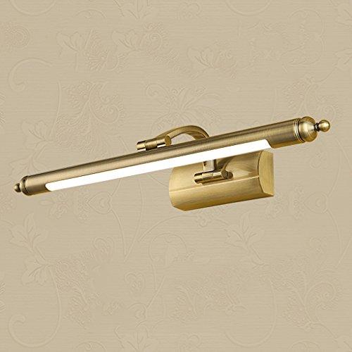 BMKY Wandlichter LED Kunst Retro Rostschutz Spiegel-Front-Lampen ( größe : 65cm )