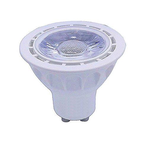 1 pcs GU10 lampe ampoule LED COB 5 W Spot à variateur d'intensité éclairage Intérieur, Warm White(3000k-3500k), gu10, 5.0 wattsW 240.0 voltsV