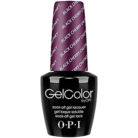 OPI GelColor Vernis à Ongles UV Black Cherry Chutney 15