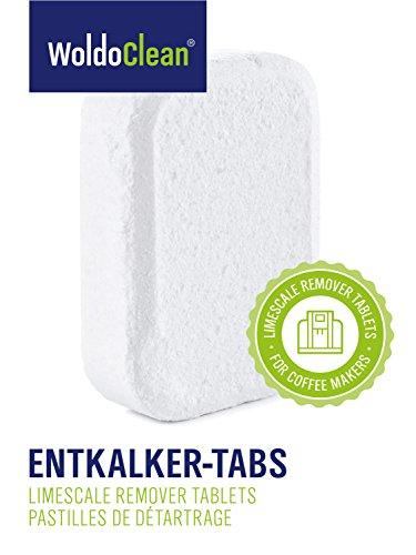 WoldoClean 50x Entkalker-Tabletten Entkalkertabs für Kaffeevollautomaten Kaffeemaschinen und Wasserkocher - 4