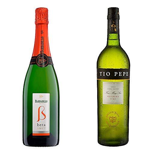Beta Brut Y Tío Pepe - Barbadillo Y González Byass - 2 Botellas De 750 Ml