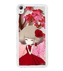 ifasho Designer Phone Back Case Cover HTC Desire 826 :: HTC Desire 826 Dual Sim ( Oil Painting Look Women )