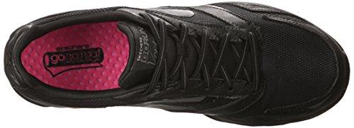 Skechers Go Run Vortex, Running Entrainement femme Noir