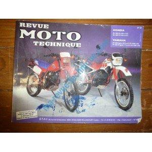 RRMT0061.2 REVUE TECHNIQUE MOTO – HONDA XL250R, XL350R – YAMAHA XT350 types 55V et 3YT, TT350 types 1TJ et 3GJ