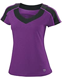 Wilson ashland heather t-shirt pour femme cap top sleeve