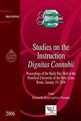 Studies on the Instruction Dignitas Connubii (Gratianus) Hardcover