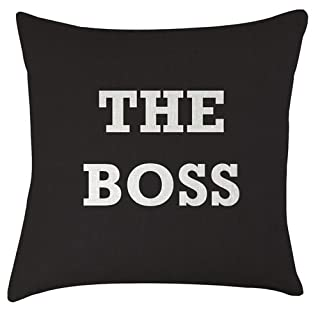 Artylicious The Boss cushion - great fathers day idea