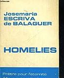 Lot de 4 livres: Homélies (Cahiers du Centre de rencontres de Couvrelles)