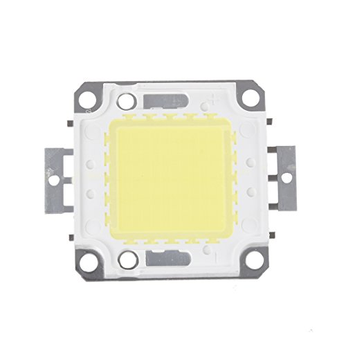SODIAL(R) 50W 3800LM 6500K DC32-34v Bombilla LED Lampara DIY Chip Luz Color...
