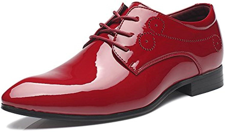 Ruanyi Smooth PU Leather scarpe scarpe scarpe Classic Lace Up Hollow Carving Formale Foderato Oxford Scarpe da Lavoro per Gli... | Qualità E Quantità Assicurata  05941f