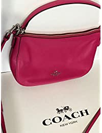 084952959909 Coach Chelsea Polished Pebbled Flax Leather Cross-Body Bag