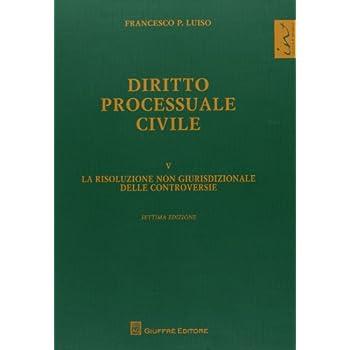 Diritto Processuale Civile: 5