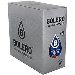 Paquete de 24 sobres bebida Bolero sabor Bayas