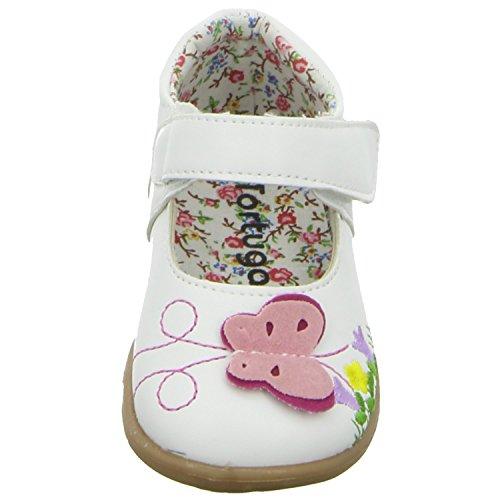 Tortuga 210087 Mädchen Babyschuhe Kaltfutter Weiß (Weiß)