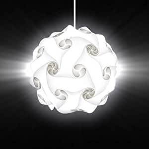 IQ Lampe Relax Lounge - Lampe Puzzle - Luminaire - Blanc - L