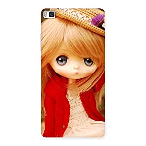 Luxirious Angel Wearing Hat Multicolor Back Case Cover for Huawei P8