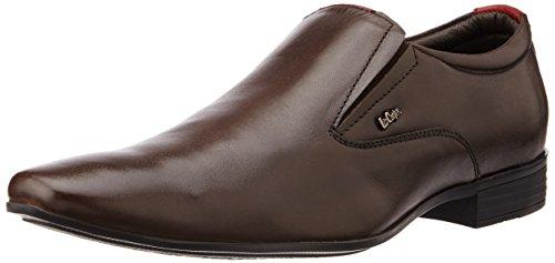 Lee Cooper Men's Brown Leather Formal Shoes - 10 UK
