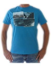 Billabong T-Shirt - Scenic - Vivid, Gr. XL, blau