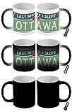 Zauber Magic Tasse Reisen Küche Ottawa Kanada