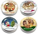 I Tè di Natale - Kit N. 4 - 4 Lattine di Tè in Confezione Regalo