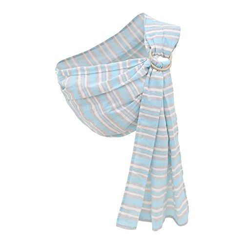 Kangaroobaby Baby Sling Wrap Carrier Von Neugeborenen Zum Kleinkind Kind (Blue Stripes)