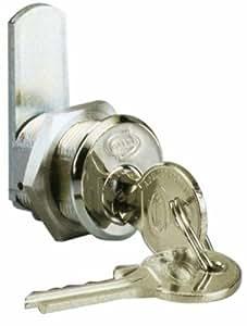Serrures Chrome Universal Fit 20 mm Ø 19 mm Corbin Art 202 CR