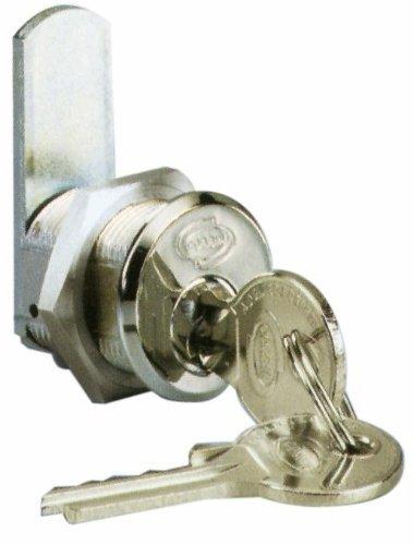 Serratura a Cilindro Cromata Universale Misura 30 mm Ø 19 mm Corbin Art 202 CR