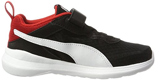 Puma Pacer Evo V Ps, Sneakers Basses Mixte Enfant Noir (Puma Black-puma White 01)