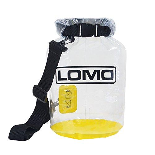 Lomo 10L transparente-bolsa-seca