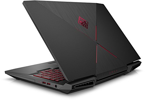 OMEN by HP 17 an029ng 173 Zoll extensive HD IPS Gaming Laptop Intel center i7 7700HQ 1 TB HDD 128 GB SSD 8 GB RAM NVIDIA GeForce GTX 1050 Ti 4 GB Windows 10 home 64 schwarz Notebooks