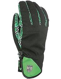 Level Suburban Men's snowboard Gloves multi-coloured Pk Arc En Ciel Size:FR : M (Taille Fabricant : 8)