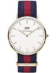 Daniel Wellington Herren-Armbanduhr Analog Quarz Nylon DW00100001