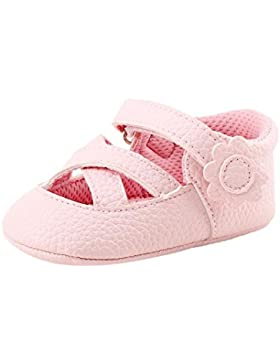 HCFKJ Primavera Suave úNica Chica Bebé Zapatos Moda Bebé NiñA NiñOs Flores Zapatos