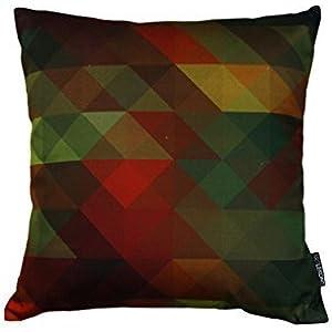 Kissen - Sonate 3 - geometrisches Muster - 40 x 40 cm
