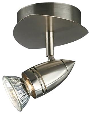 Massive 54940-17-15 Halogen-Wandspot (1x GU10 230V 50 Watt inkl. Leuchtmittel) Farbe: stahl gebürstet von Massive - Lampenhans.de