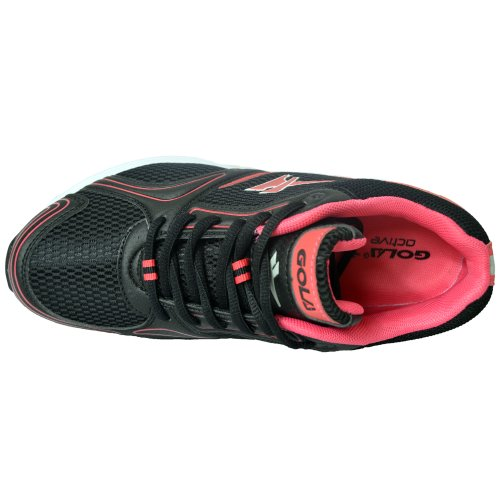 Gola Active New da donna traspirante palestra sport corsa Athletic scarpe taglia UK 4 5 6 7 8 Black