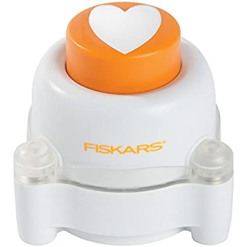 Fiskars Everywhere Window Punch - Perforadora de ventana, diseño corazón