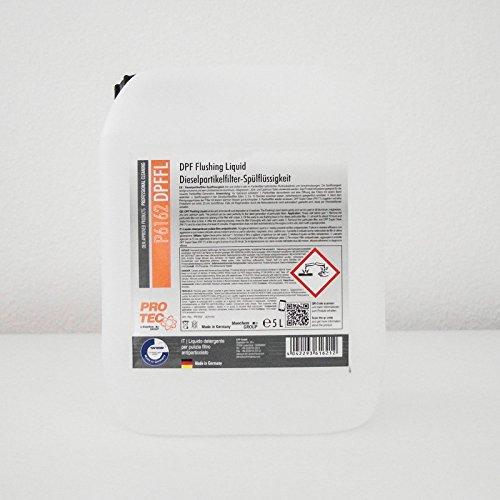 PROTEC DPF Flushing Liquid Dieselpartikelfilter-Spülflüssigkeit Reiniger 5L