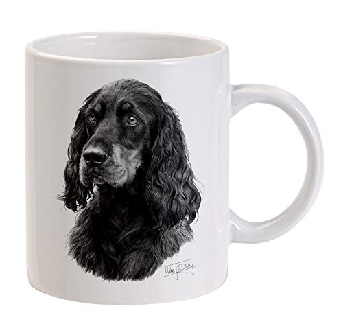 mike-sibley-gordon-setter-cane-bianco-tazza